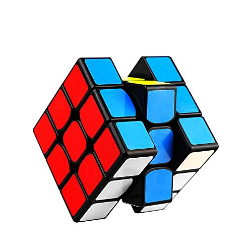 Etmury Zauberwürfel, Speed Cube Magic Cube 3x3 Zauberwürfel Cube für Speed-Cubing Geeignet für Anfänger,Lebendigen Farben