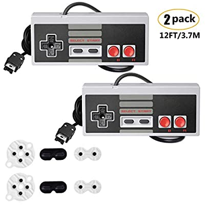 NES Classic Controller with 12FT Cable [2-Pack]...