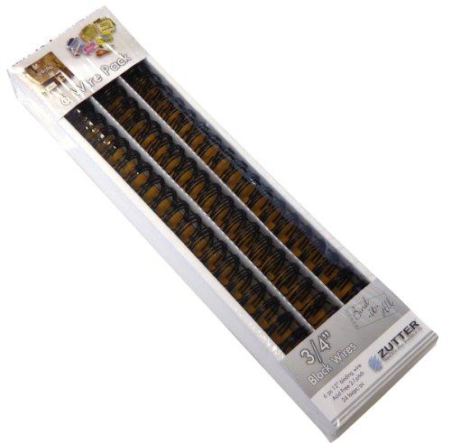 Zutter Bind-it-All OWire .75-inch 6/Stück, andere, Mehrfarbig