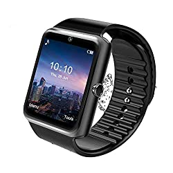 Image of Smart Watch,Android Smartwatch Touch Screen Bluetooth Smart Watch for Android Phones Wrist Phone Watch with SIM Card Slot & Camera,Waterproof Sports Fitness Tracker Watch for Men Women Kids: Bestviewsreviews