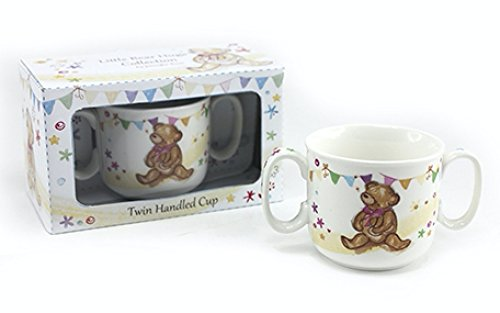 little bear hugs collection Twin Handled Cup in gift box