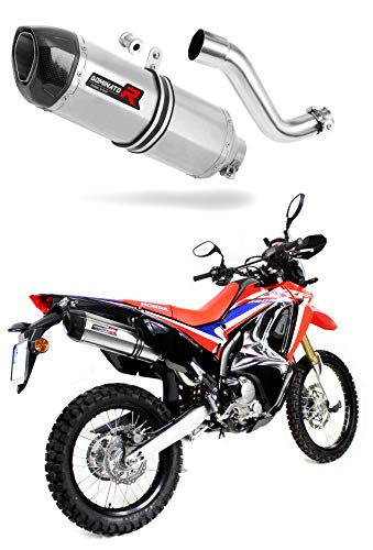 CRF 250 Rally Escape Moto Deportivo HP1 Carbon Silenciador Dominator Exhaust Racing Slip-on 2017 2018 2019