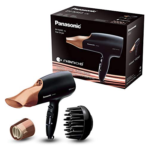 Panasonic EH-NA65CN Rose Gold Nanoe Hair Dryer for Visibly Improved Shine