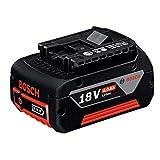 Bosch Professional GBA 18V 4.0Ah Litio, 1 batería x 4.0 Ah, 18 V, Negro
