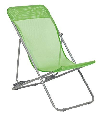 Haberkorn Liegestuhl für Kinder Gartenstuhl Liege Strandliege grün