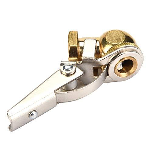Mandrino pneumatico valvola pneumatica connettore valvola pneumatico con clip per pneumatici, auto, motore (con Clip)