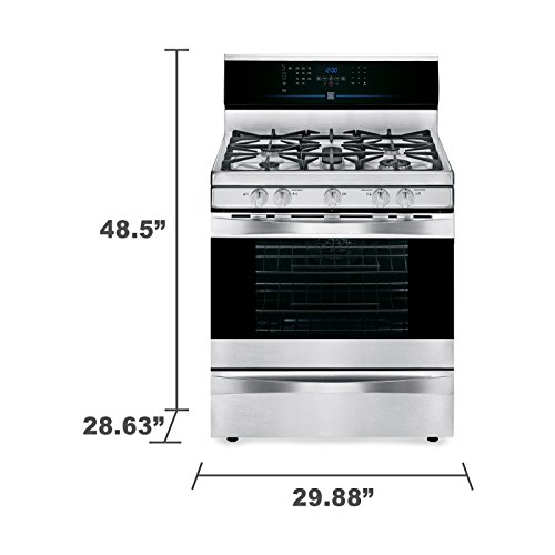 Kenmore 5.0 cu. ft. Self Clean Gas Range in Stainless Steel, includes delivery and hookup -02274233