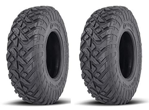 Pair of Fuel Gripper Race (10ply) Radial ATV/UTV Tires [32x10-14] (2)