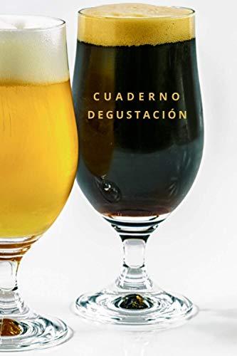CUADERNO DEGUSTACIÓN, DIARIO DE CERVEZAS: Lleva un registro de todos los detalles: marca, tipo, sabor, aroma, valoración, lugar... | Regalo especial para Amantes de la cerveza