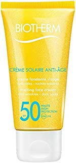 Biotherm Creme Solaire, SPF 50 UVA/UVB Melting Face Cream, 1.69 Ounce