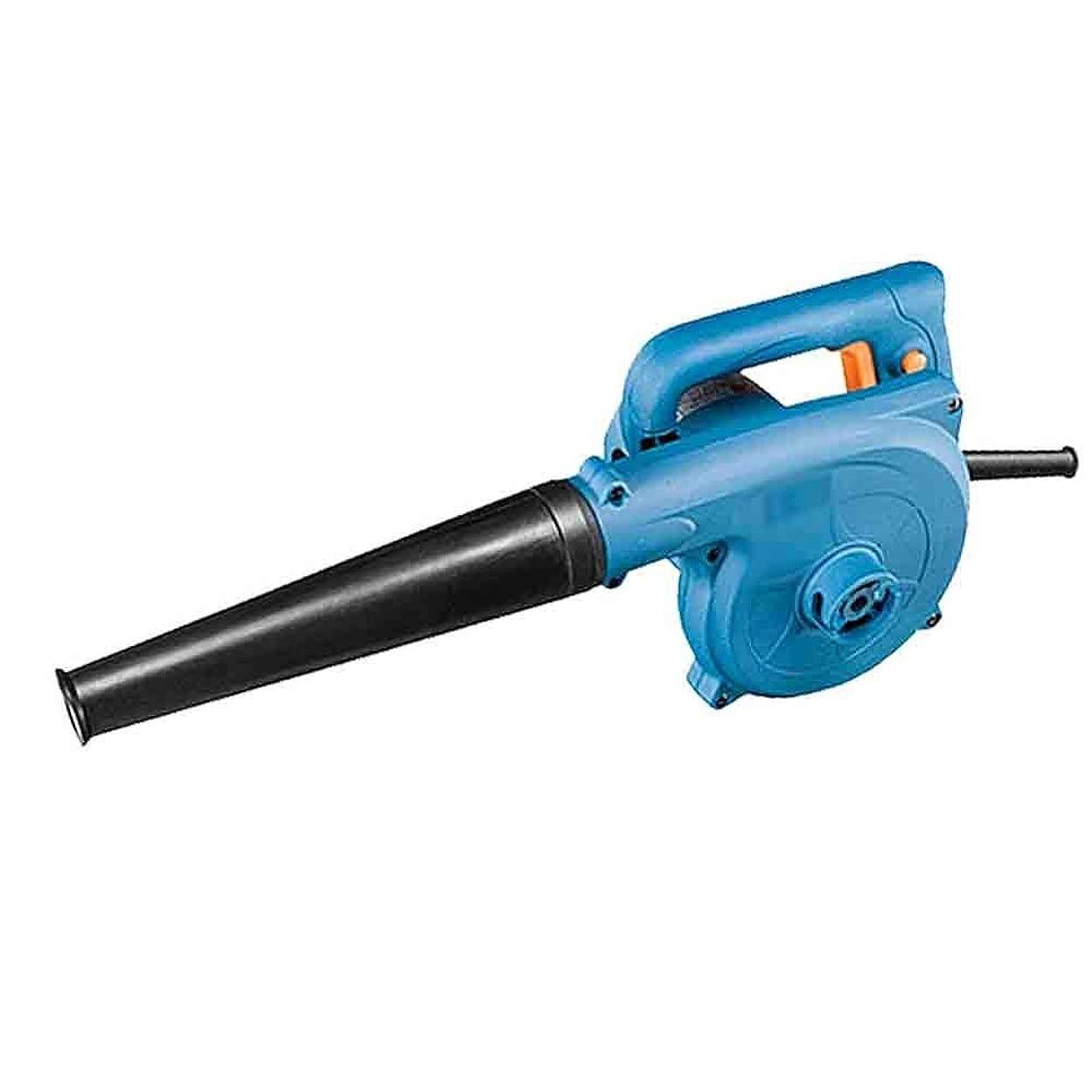 ディスコ数学的な慢性的QL 送風機、送風機、吸引デュアルユースのハイパワー電動ヘアドライヤー工業用集塵機 トロリーフブロワー (Color : Blue)