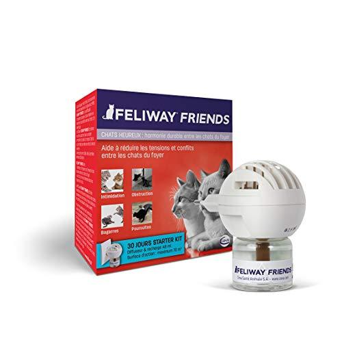 FELIWAY Friends – Anti Conflit pour Chat - Diffuseur + Recharge 48 ml
