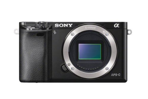 "Sony Alpha 6000 Systemkamera (24 Megapixel, 7,6 cm (3"") LCD-Display, Exmor APS-C Sensor, Full-HD, High Speed Hybrid AF) schwarz"