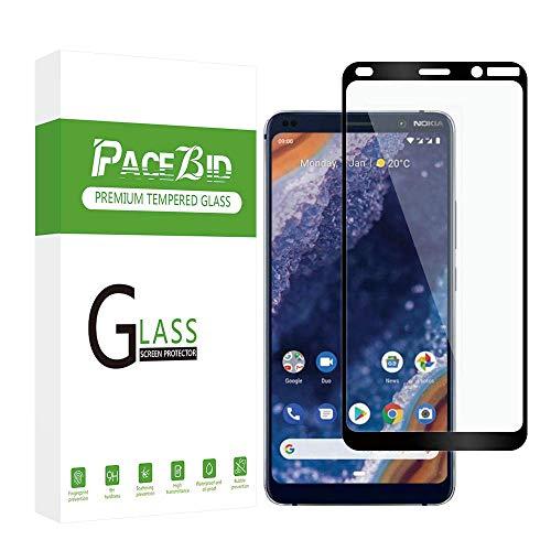 PaceBid [2 Pack Vetro Temperato Nokia 9 PureView, [Anti-Graffi] [9H Durezza] [Anti-Impronta] Pellicola Protettiva per Nokia 9 PureView