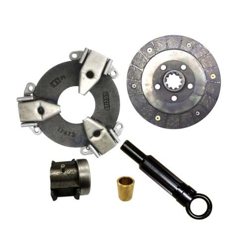 Complete Tractor New 154 Lo Boy Clutch Kit for Case/International Harvester 404639R94, 404640R93, blk