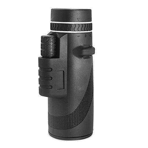 LIZONGFQ Binoculares Individuales 40x60 Potentes Pequeños Binoculares Binoculares de Mano Grande Visión Nocturna HD Professional,1