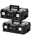 <span class='highlight'>DeWalt</span> DWST1-70703 T-STAK II Tool Storage Box for DCD795, DCF887, DCD796 Twin Pack