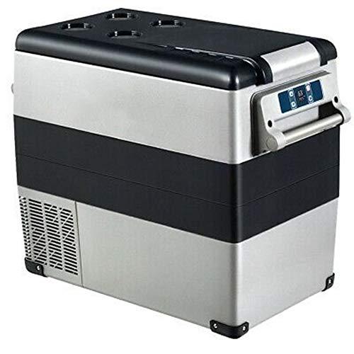 HRRH 55L 12V-220V Elektrischer Kompressor Tragbare KüHlbox KüHl- / Gefrierkombination FüR Wohnmobile, Privathaushalte, Reisen, Sportveranstaltungen