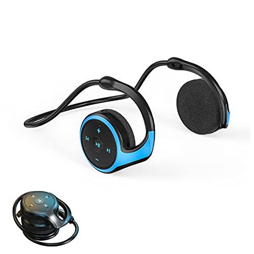 AQUYY Auriculares Deportivos Inalámbricos Bluetooth, Cascos Ligeros Plegables para Correr Sport Fitness,...
