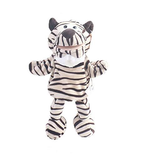 PHOOW Marionetas de Peluche Marioneta de Mano Juguetes de Peluche Animal Lindo Pequeño Tiger Story Juguete Muñeca Blanda Juguetes for niños Juguete for niños