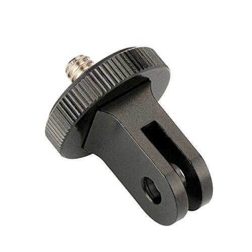 Ulanzi, adattatore in alluminio con foro da 6,3 mm per treppiede IRONMAN IRONMAN II ST-03, ST-02S compatibile con GoPro Hero 5,6,4Session, SJCAM SJ4000,Xiaomi Yi, H9Eken 4K