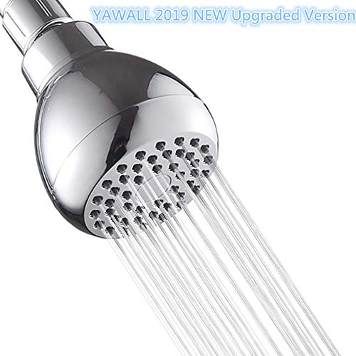 16'Rainfall Shower Head,YAWALL Ultra-thin Stainless Steel & High Polish Chrome,Luxury Durable Rain...