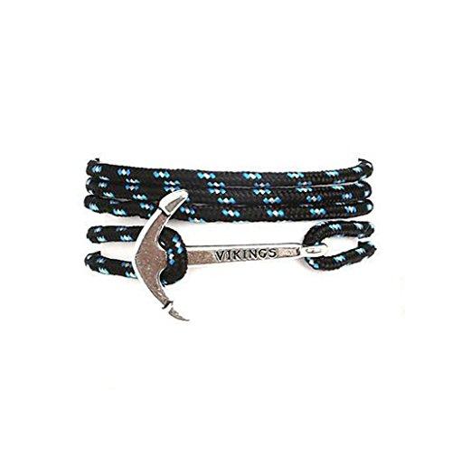 GYJUN Bracelet Charmes pour Bracelets / Bracelets Wrap Alliage / Nylon Forme de Ligne / Ancre Ajustable Quotidien / Décontracté / Sports Bijoux , one size