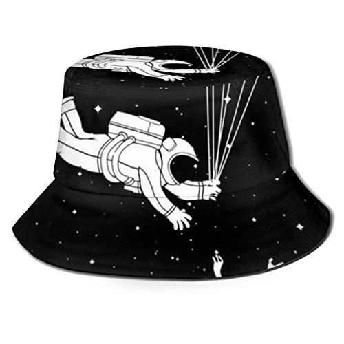 li Flat Top atmungsaktive Eimer Hüte Unisex menschliche Skelette Gymnastik Yoga Eimer Hut Sommer Fischerhut