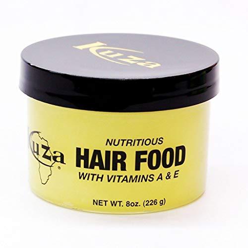 kuza nutritious hair food w/vitamin A & E 8 oz