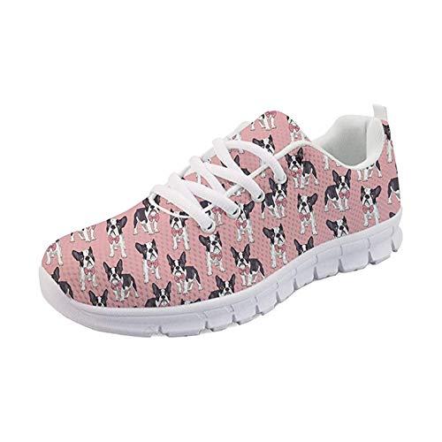 SEANATIVE - Zapatillas de deporte para mujer, color Rosa, talla 43.5 EU