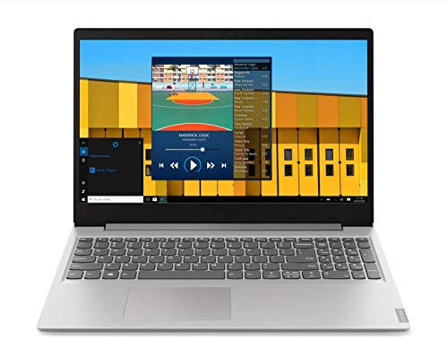 "Lenovo IdeaPad S145 Intel Core i3 7th Gen 15.6"" FHD Thin and Light Laptop 4GB RAM 1TB HDD Windows10 MS Office Platinum Grey, 81VD00EQIN"