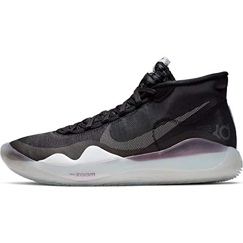 Nike Zoom KD 12 Basketball Shoes, Black / Pure...