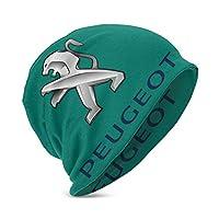 プジョーのロゴ ユニセックスチルドレンビーニーハットスカルキャップニットハットコットンヘッドウェア