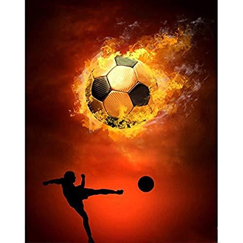 XYDXDY Adultos 1500 Piezas Rompecabezas Juguete Blaze fútbol Rompecabezas Juguete Educativo Familiares y Amigos