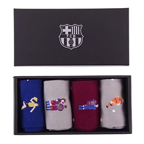 Copa FC Barcelona - Juego de calcetines casuales (tallas 40 a 46)