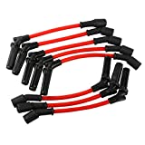 MOSTPLUS Spark Plug Ignition Wires Set Compatible for Chevy GMC 1999-2006 LS1 VORTEC 4.8L 5.3L 6.0L