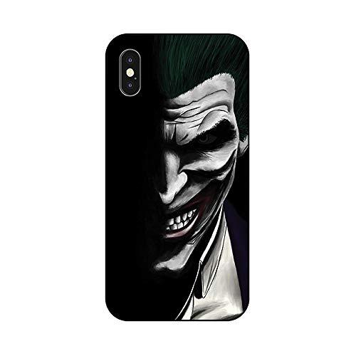 EREMITI JEWELS Cover Morbida Compatibile per iPhone Smiling Evil Hero JOK BURLONE Bad in The Shadow Sorridente nell' oscurita' (5)