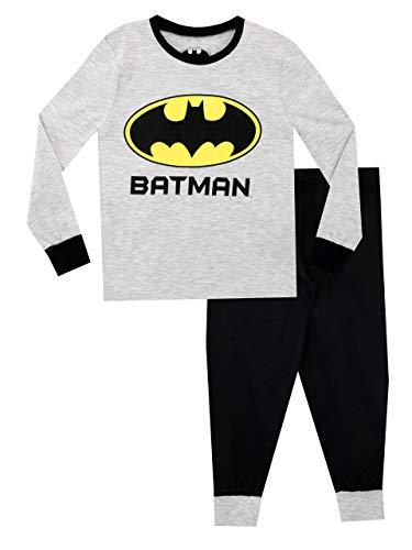 DC Comics Jungen Batman Schlafanzug Slim Fit Grau 122
