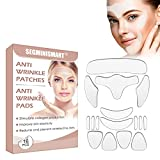 Anti Wrinkle Patches, Patch Antirughe, Pad Antirughe, Pad Antirughe Viso, Cerotti Per il Viso Silicone,...