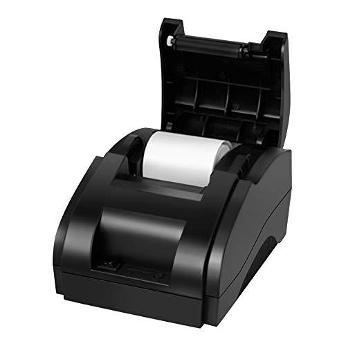 Impresora Térmica de Recibos de 58 mm Impresora de Tickets Inalámbrica de Alta Velocidad con Puerto USB Portátil Impresora de Tickets Compatible