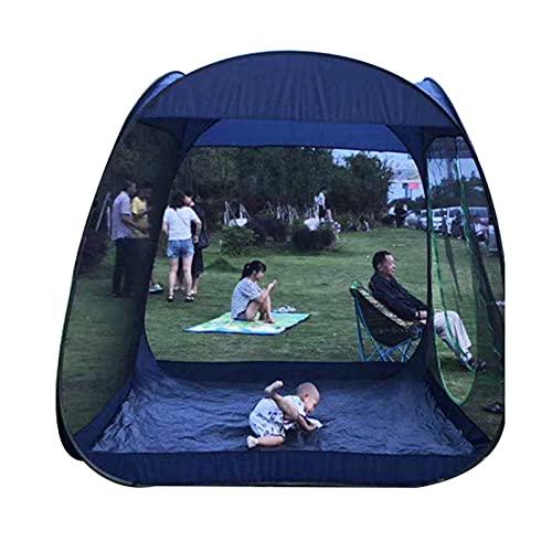 Mosquitera para acampar Mosquitera portátil plegable para carpa, Tienda de mosquitera de patio jardín de apertura rápida totalmente automática, Toldo de playa al aire libre para 5-8 personas,
