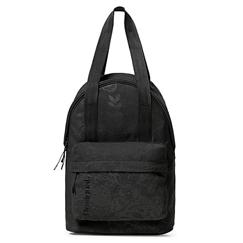 Desigual School Bag Ethnic Negra