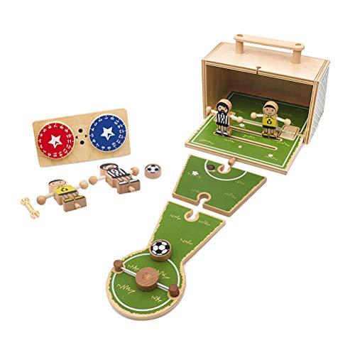 AIJIANG Juegos de Fútbol Juego de Mesa,Juegos de Tablero de Fútbol Juguetes Educativos de los Niños Juguetes de Ocio Futbolín Mesa Juegos Padre-Niño