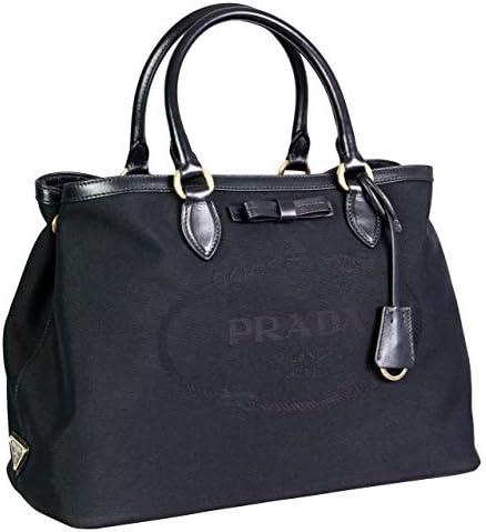 Prada Women s 1BA579 UCW F0002 Black Fabric Shoulder Bag product image
