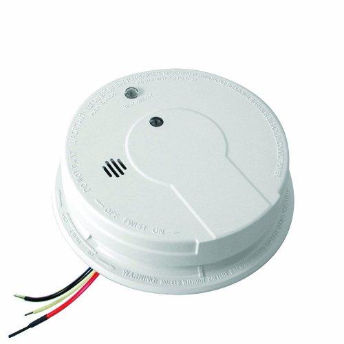 Kidde 21006371 p12040 Hardwire with Battery Backup Photoelectric Smoke Alarm, White