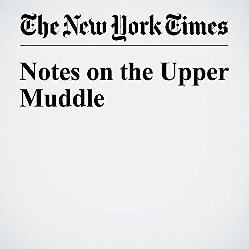 Notes on the Upper Muddle copertina