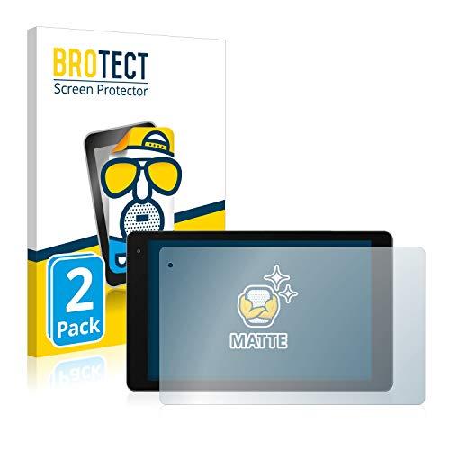 BROTECT 2X Entspiegelungs-Schutzfolie kompatibel mit Medion Lifetab P10603 (MD 60876) Bildschirmschutz-Folie Matt, Anti-Reflex, Anti-Fingerprint