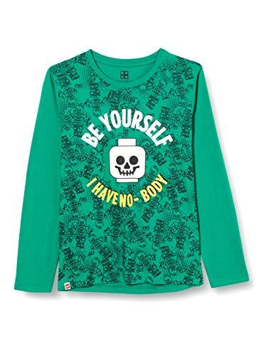 LEGO Jungen MW - Langarmshirt T-Shirt, 831 Light Green, 122