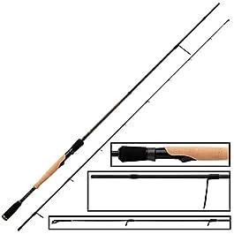 Fox Rage Terminator Spin Finesse 2,10 m 5-21 g – Canne à pêche spinning pour la pêche au lancer sur perche & sandre…
