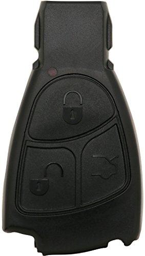 Liamgate Ersatz Schlüsselgehäuse geeignet für Mercedes-Schlüssel-mit-3-Tasten